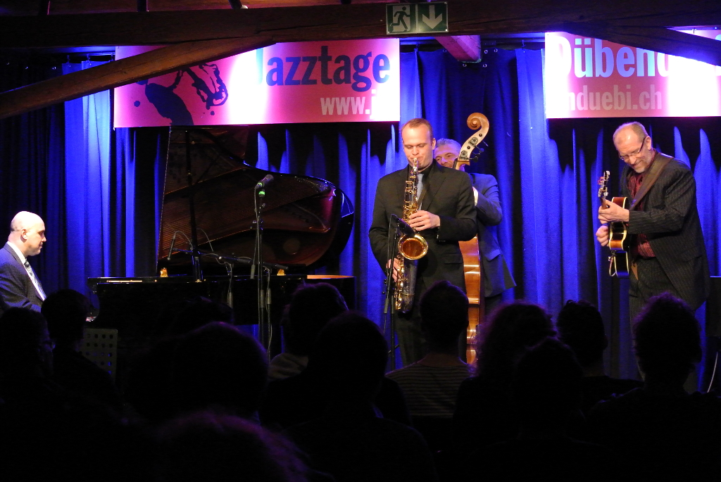 The Power Swing Quartet: Larry Fuller | Linus Wyrsch | Martin Pizzarelli | Jörg Seidel